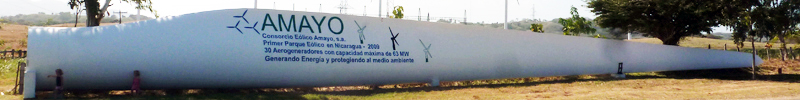 IB Environmental systems windmill blade